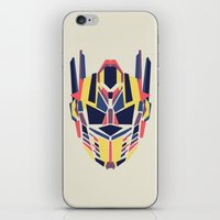 transformer iPhone & iPod Skins featuring Prime by Fimbis