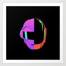Daft Punk iOS 7 Art Print