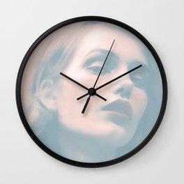 Rose by Amelia Millard Wall Clock