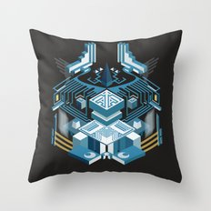 Island of the Lambent Moon Throw Pillow