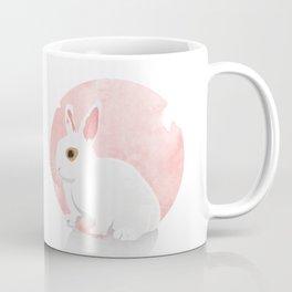 The White Bunny Coffee Mug