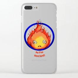 Calcifer Clear iPhone Case