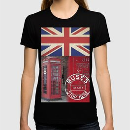 Great Britain London Union Jack England T-shirt