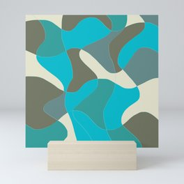 Corol shape Mini Art Print