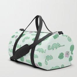 Remi the Chameleon Duffle Bag