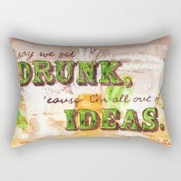 Dos Tequilas, Por Favor Rectangular Pillow