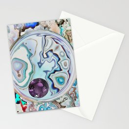 Amethyst in Mikro-Agate Stationery Cards