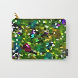 Pineapple Abstract Geometric Carry-All Pouch