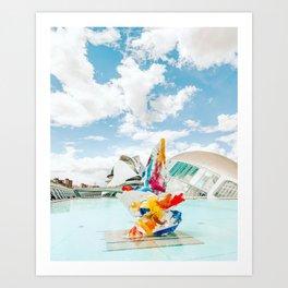 Modern Valencia Art Print