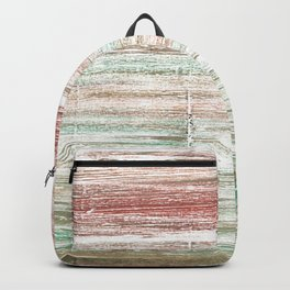 Grullo abstract watercolor Backpack