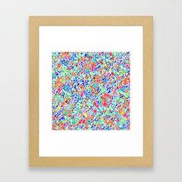 Rhythmic Cloud 10 Framed Art Print