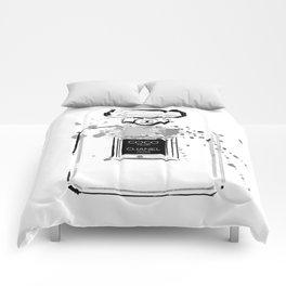 Black Perfume Comforters