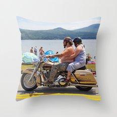 Love Handles  Throw Pillow