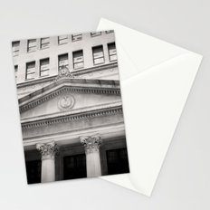 Federal Reserve Bank of Chicago Black and White Stationery Cards