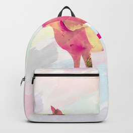 Abstract Fox Backpack