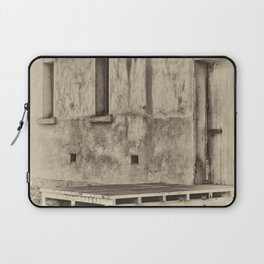 Antique plate style old loading dock Laptop Sleeve