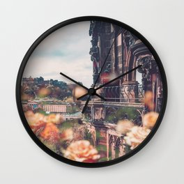 Edinburgh in Bloom Wall Clock
