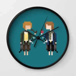 Merry & Pippin Wall Clock