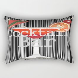 Cocktail Bar Rectangular Pillow