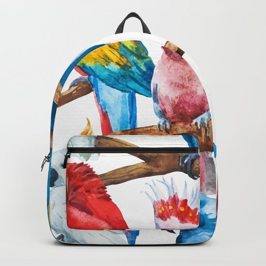 Parrot Pattern 01 Backpack