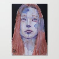 redhead Canvas Prints featuring Redhead by SirScm