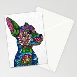 Folk Art Puppy Stationery Cards