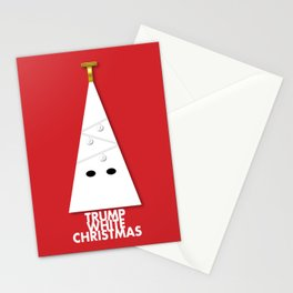 Trump White Christmas Stationery Cards