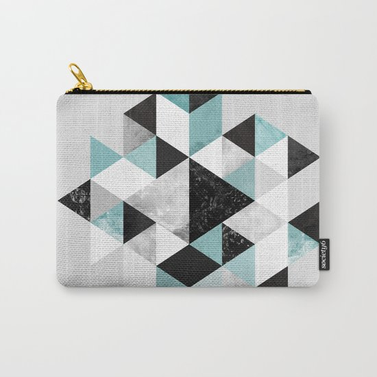 Graphic 202 Turquoise Carry-All Pouch