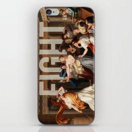 Fight. iPhone Skin
