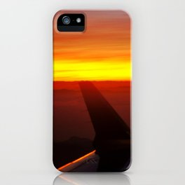 Sunset at 30,000 Feet iPhone Case