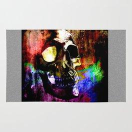 Human Skull By Annie Zeno  Rug