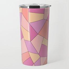 Candy geometry Travel Mug