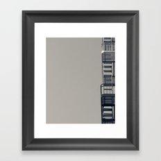 Exit Calls Framed Art Print