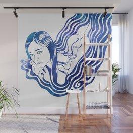 Water Nymph IX Wall Mural
