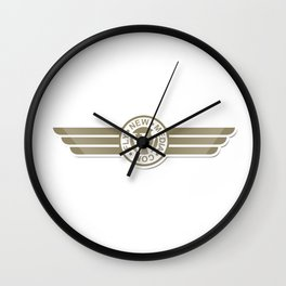 Fly New Media Wall Clock