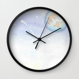 Colors of the Sky Wall Clock