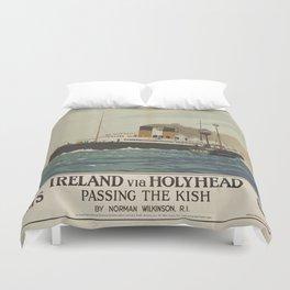 Vintage poster - Ireland Duvet Cover