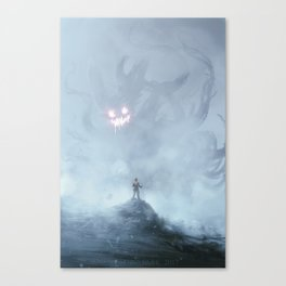 Little devil inside Canvas Print
