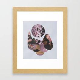 p e a c e  Framed Art Print