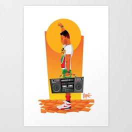 Radio Raheem Art Print