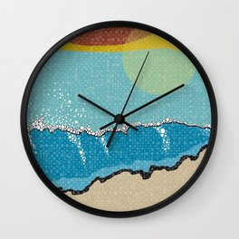 Sunrise I Wall Clock