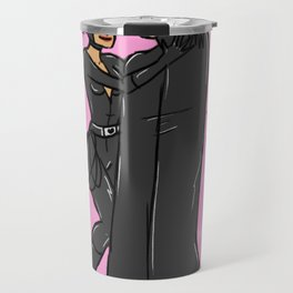 The Cat and the Bat Travel Mug