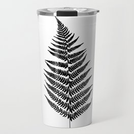 Fern silhouette Travel Mug
