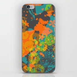 floral 004. iPhone Skin