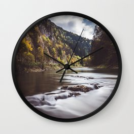 Dunajec River - Landscape and Nature Photography Wall Clock