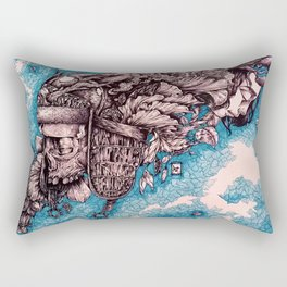 For whom the bell tolls Rectangular Pillow