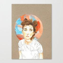 Plain Jane Canvas Print
