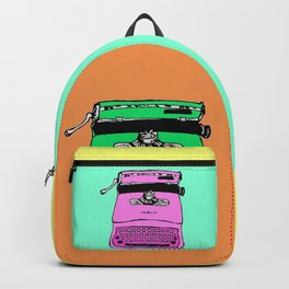 Let's warholize! Olivetti lettera22-style full of color Backpack