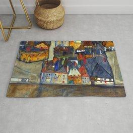 Egon Schiele City in Twilight Rug