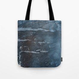 Dark slate gray colorful watercolor Tote Bag